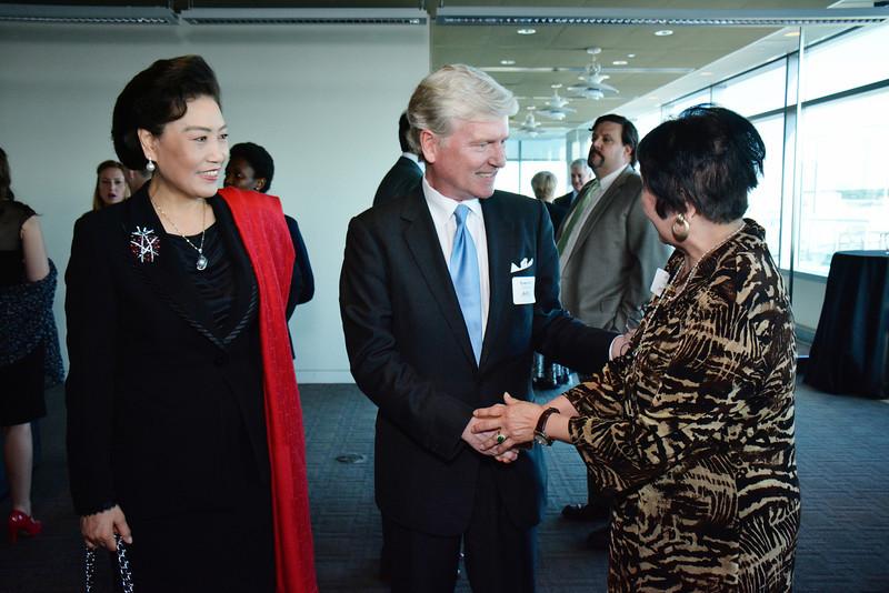 Tian Linzhi; Tom Britt; Gloria Chang
