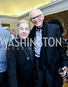 "Marilyn and Alan Bergman. Photo by Tony Powell. ASCAP's 100th Anniversary ""We Write the Songs."" Library of Congress. May 6, 2014"