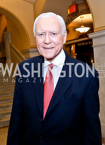 "Sen. Orrin Hatch. Photo by Tony Powell. ASCAP's 100th Anniversary ""We Write the Songs."" Library of Congress. May 6, 2014"