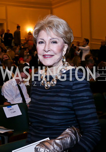"Ginny Mancini. Photo by Tony Powell. ASCAP's 100th Anniversary ""We Write the Songs."" Library of Congress. May 6, 2014"