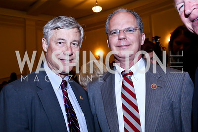 "Rep. Fred Upton, Rep. Brett Guthrie. Photo by Tony Powell. ASCAP's 100th Anniversary ""We Write the Songs."" Library of Congress. May 6, 2014"