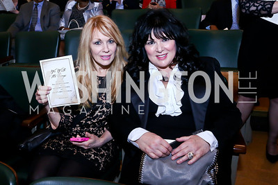 "Heart's Nancy and Ann Wilson. Photo by Tony Powell. ASCAP's 100th Anniversary ""We Write the Songs."" Library of Congress. May 6, 2014"