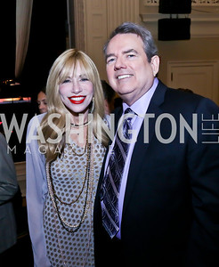 "Carly Simon, JImmy Webb. Photo by Tony Powell. ASCAP's 100th Anniversary ""We Write the Songs."" Library of Congress. May 6, 2014"
