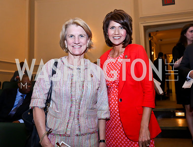 "Rep. Shelley Moore Capito, Rep. Kristi Noem. Photo by Tony Powell. ASCAP's 100th Anniversary ""We Write the Songs."" Library of Congress. May 6, 2014"