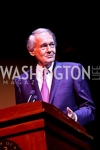 "Sen. Ed Markey. Photo by Tony Powell. ASCAP's 100th Anniversary ""We Write the Songs."" Library of Congress. May 6, 2014"