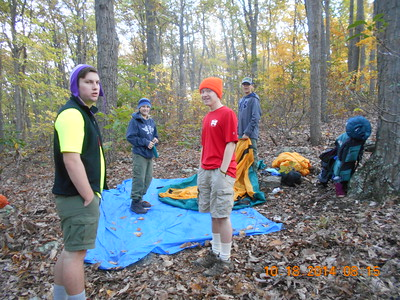 AT Backpacking Trip Oct 2014