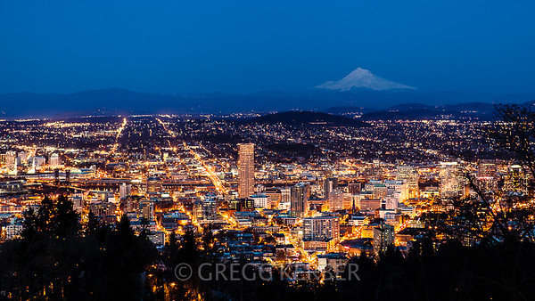 Portland from Pittock