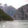 Sharp turns in Tracy Arm passage