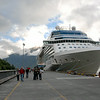 Celebrity Solstice at Skagway.