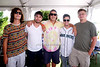 Will McVee, steve Tague, Hunter Wooten, Corey Nill, and Erik Olsen (members of Dub Steady)