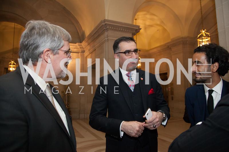 Richard Phillips, Dr. Mohammed Ahmed, Salman AlJalahma