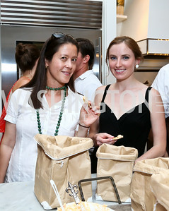 "Tania Lee, Meg Malloy. Photo by Tony Powell. ""American Grilled"" Premiere Party. Evans Seiver Residence. July 2, 2014"
