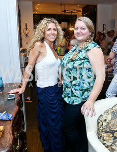"Nycci Nellis, Tiffany Macisaac. Photo by Tony Powell. ""American Grilled"" Premiere Party. Evans Seiver Residence. July 2, 2014"