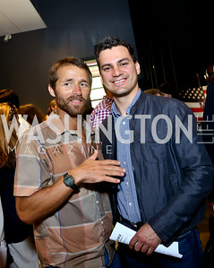 "Paul Delzer, Paul Medina. Photo by Tony Powell. ""American Muscle"" Screening. Angelika Pop Up. June 27, 2014"