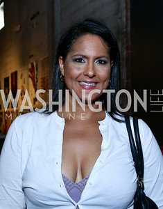 "Karen Finney. Photo by Tony Powell. ""American Muscle"" Screening. Angelika Pop Up. June 27, 2014"