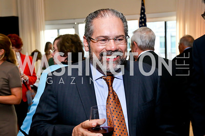 "Al Jazeera America ""Inside Story"" Host Ray Suarez. Photo by Tony Powell. Gwen Ifill Roast. Press Club. May 19, 2014"