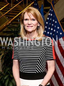 ABC News Chief Global Affairs Correspondent Martha Raddatz. Photo by Tony Powell. Gwen Ifill Roast. Press Club. May 19, 2014