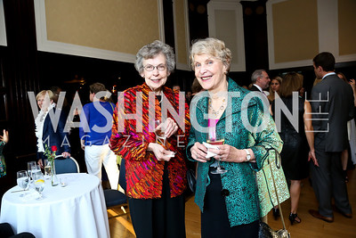 Maurine Beasley, Deborah Toll. Photo by Tony Powell. Gwen Ifill Roast. Press Club. May 19, 2014