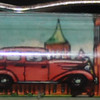 "Back: Smithsonian Institution, ""The Castle""<br /> Front:  Smithsonian Institution, ""The Castle""<br /> Floater: red and green car<br /> Style: Classic<br /> Color: orange<br /> Cost: $2.00 bubble<br /> Category: Museums"