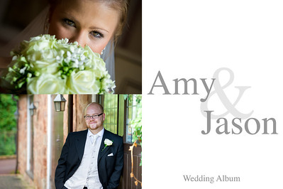 Amy & Jason wedding Album Proofs