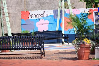 Annapolis mural.