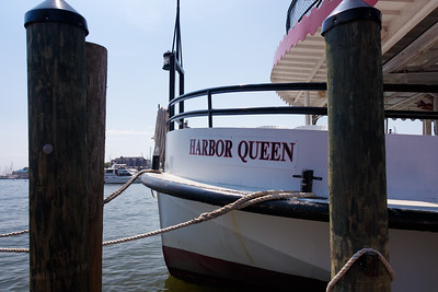 The parents took a tour of the Annapolis Harbor on the Harbor Queen.