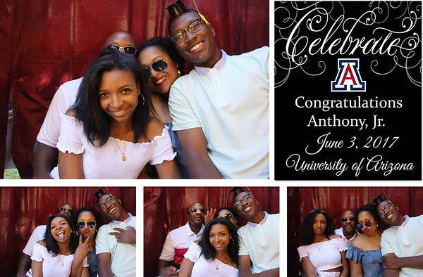 Anthony Jr.'s Grad Party - 6.3.17 - Photo Strips