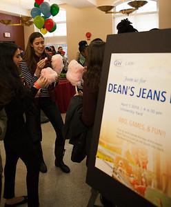April 7: Dean's Jeans Day