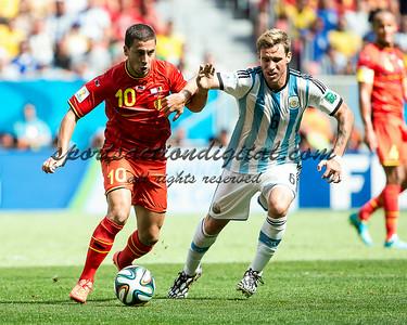 Eden Hazard, Lucas Biglia