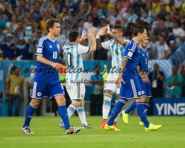 Argentina players celebrate