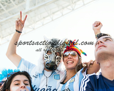 Fans prior to the match
