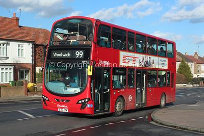 DW447, LJ61CFK, Arriva London