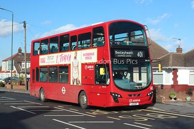 DW451, LJ11AAY, Arriva London