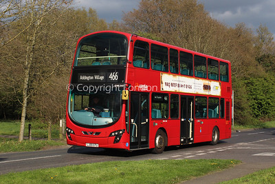 DW260, LJ59GTU, Arriva London South