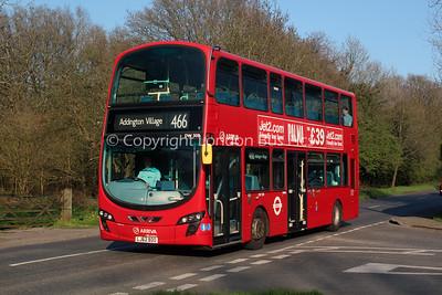 DW508, LJ62BDO, Arriva London South