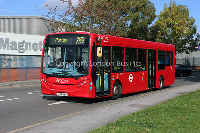 ENX10, LJ12BYT, Arriva London South