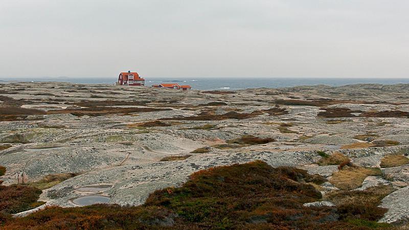 Hållö, beautiful landscape in west coast of Sweden
