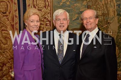 Dorothy McSweeny, Ambassador Don Bliss, Bill McSweeny
