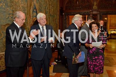 Bill McSweeny; Ambassador Don Bliss; Bill Dunlap; Shahin Mafi