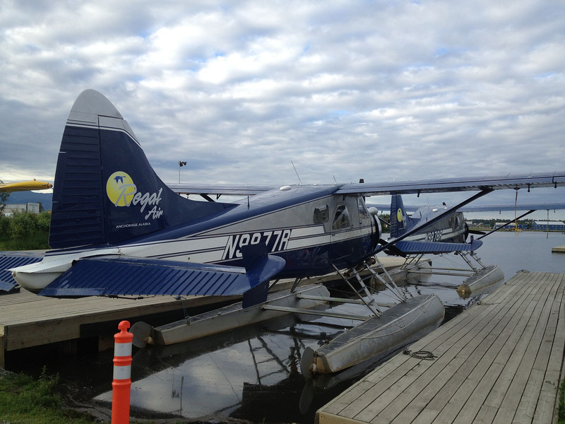 Our two planes for the trip to Katmai National Park.  We will be taking off and landing on water.