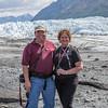 Carol and I at Matanuska Glacier.