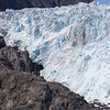 Perspective of the size of the glacier.