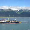 Seward Alaska as seen from our cruise ship.
