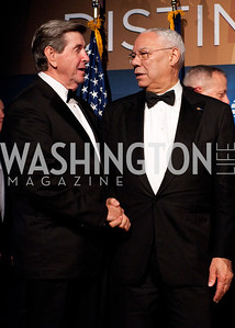 Alabama Governor Bob Riley greets Colin Powell