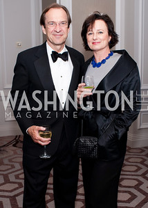 David Ensor with wife Anita Ensor