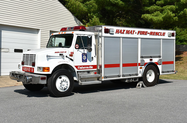 Augusta County, Virginia Squad 11 is this 2011 International 4900/New Lexington (s/n R648).  Ex- Fishersville VFD.