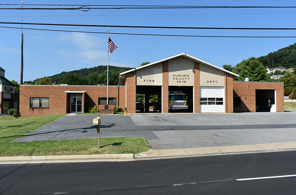 Augusta County, Virginia Fire Station 10.