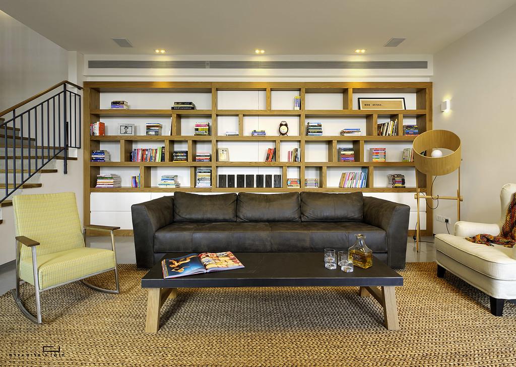 צילום בית בהוד השרון. אדריכלית: איילת שמש, נגרות: מוטי לטי, עבודות בטון: פלס בטון
