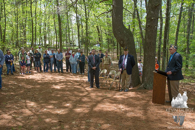 B-24 Crash Site Ceremony Uxbridge, Massachusetts 5-18-14