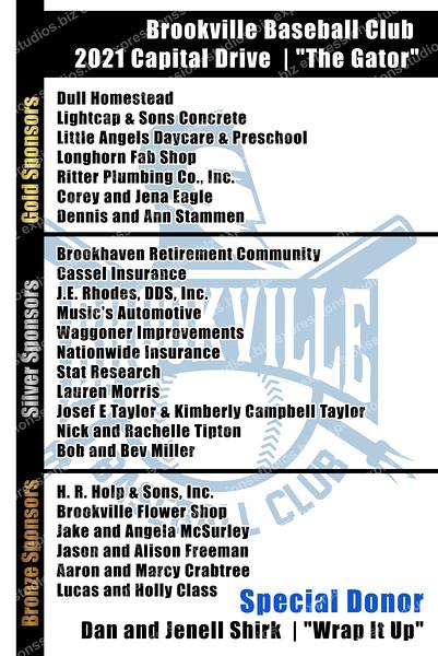BV Baseball Club Plaque copy